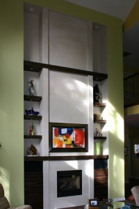 Custom Modern Mantel