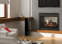 HeatGlo ST-36 See-Through Gas Fireplace