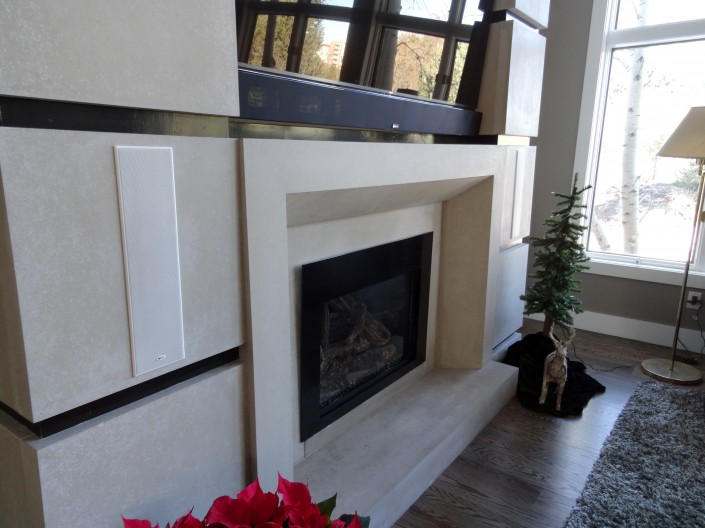Pointe Mantel & Wall Cladding