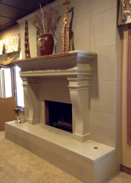 Augusta Mantel & Cladding