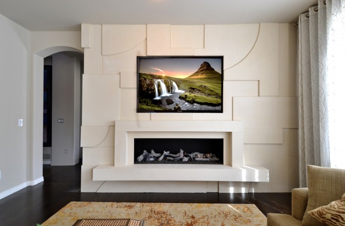 Custom Mantel & Cladding