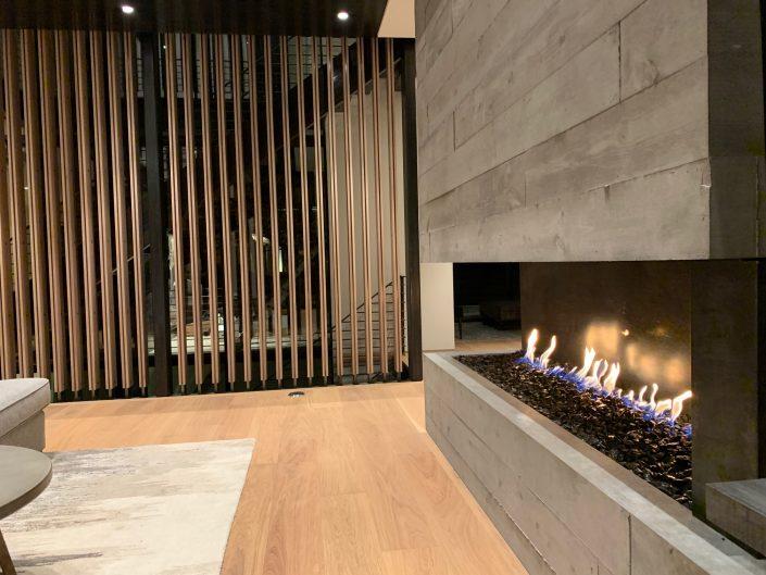 Stellar Custom Fireplace