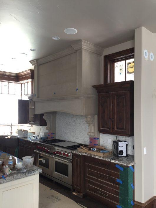 Custom Large Kitchen Hood
