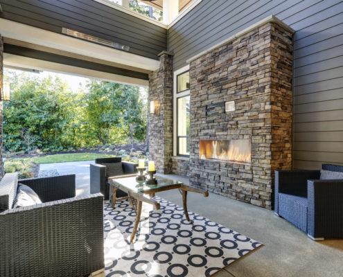 Outdoor Fireplace Denver