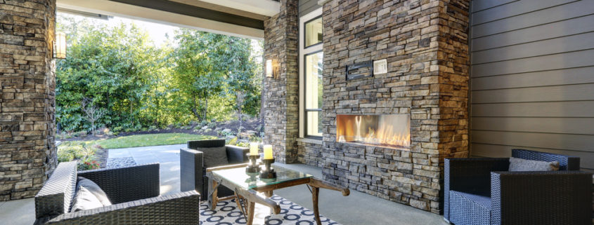 Outdoor Fireplace Denver